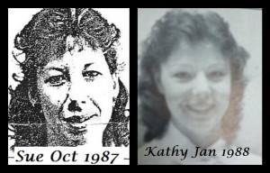 Sue 1987 & Kathy 1988
